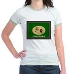 I Love Ducks Jr. Ringer T-Shirt