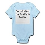 Daddy is taken Onesie