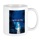 Forest Night UFO Visitation Mug