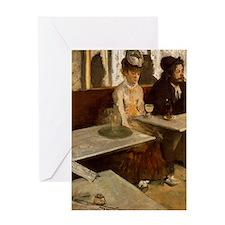 Edgar Degas -L'Absinthe Greeting Card