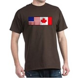 AmeriCanadian (w/ border) T-Shirt