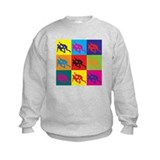Wrestling Pop Art Sweatshirt