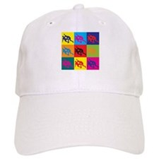 Wrestling Pop Art Baseball Cap
