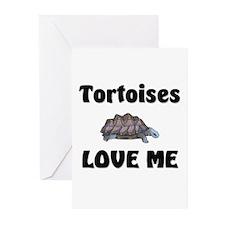 Tortoises Love Me Greeting Cards (Pk of 10)