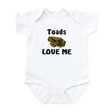 Toads Love Me Infant Bodysuit