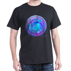 Whales Crop Circle T-Shirt
