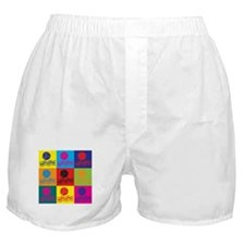 Water Polo Pop Art Boxer Shorts