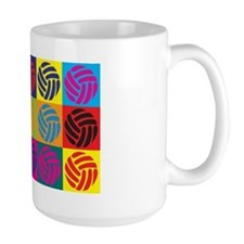 Volleyball Pop Art Mug