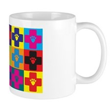 Veterinary Medicine Pop Art Coffee Mug