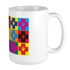 Veterinary Medicine Pop Art Mug