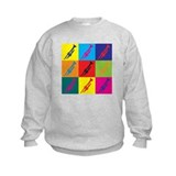 Trumpet Pop Art Sweatshirt
