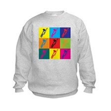 Trombone Pop Art Sweatshirt
