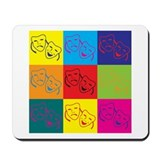 Theater Pop Art Mousepad