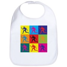 Tennis Pop Art Bib
