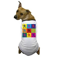 Tennis Pop Art Dog T-Shirt