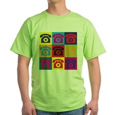 Telephones Pop Art T-Shirt