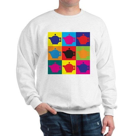 Tea Pop Art Sweatshirt