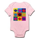 Tea Pop Art Infant Bodysuit