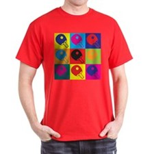 Table Tennis Pop Art T-Shirt
