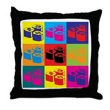 Sushi Pop Art Throw Pillow