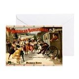 American Burlesquers Greeting Card