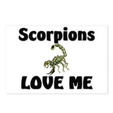 Scorpions Love Me Postcards (Package of 8)