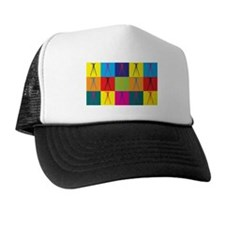 Surveying Pop Art Trucker Hat