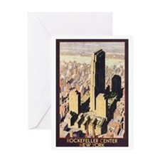 Rockefeller Center NYC Greeting Card