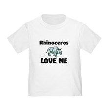 Rhinoceros Love Me T