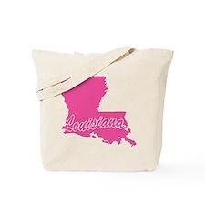 Pink Louisiana Tote Bag