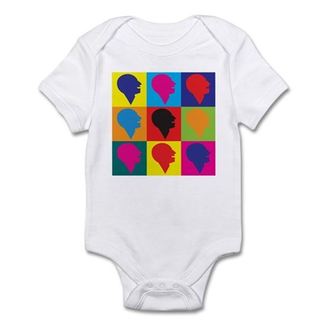Speech-Language Pathology Pop Art Infant Bodysuit