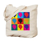 Speech-Language Pathology Pop Art Tote Bag