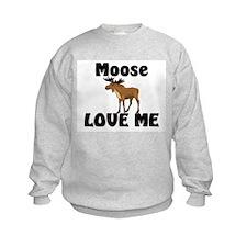 Moose Love Me Sweatshirt