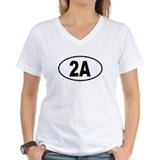 2A Womens V-Neck T-Shirt