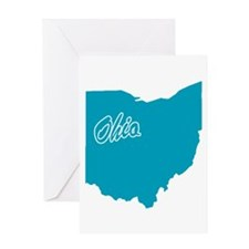 State Ohio Greeting Card