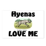 Hyenas Love Me Postcards (Package of 8)