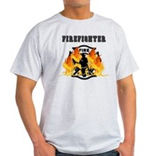 Firefighting Flames T-Shirt