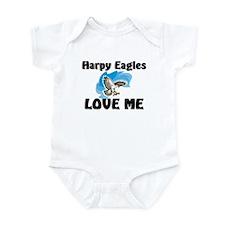 Harpy Eagles Love Me Infant Bodysuit