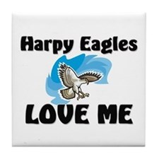 Harpy Eagles Love Me Tile Coaster