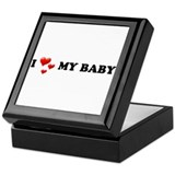 I Love My Baby Keepsake Box