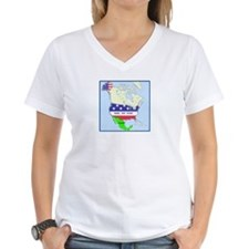 Funny Mexico America Map Shirt