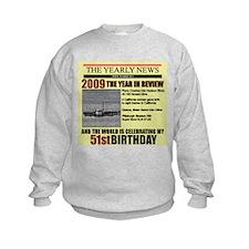 1951 birthday Sweatshirt