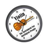 Intelligent Violin Wall Clock
