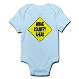 Whine Country Ahead -  Infant Creeper