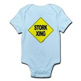 Stork Xing -  Infant Creeper