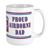 Proud Airborne Dad 82nd Mug