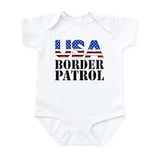USA Border Patrol Infant Bodysuit