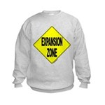 Expansion Zone! -  Kids Sweatshirt