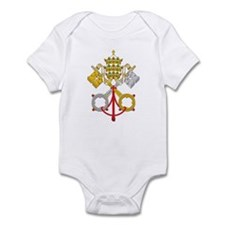 Papacy Emblem Infant Bodysuit