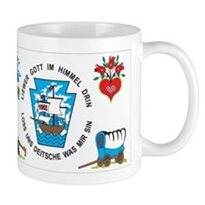 Pennsylvania German Flag Mug